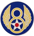 VIEW 8th AF Lapel Pin