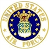 VIEW USAF Seal Lapel Pin