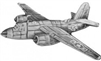 VIEW B-26 Marauder Lapel Pin
