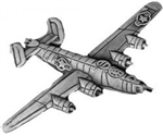 VIEW B-24 Liberator Lapel Pin