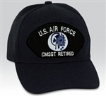 VIEW USAF CMSgt Retired Ball Cap