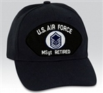 VIEW USAF MSgt Retired Ball Cap