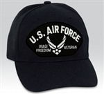 VIEW USAF Iraqi Freedom Veteran Ball Cap