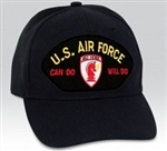 VIEW USAF Red Horse Ball Cap