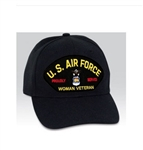 VIEW USAF Woman Veteran Ball Cap