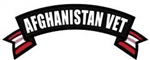Afghanistan Vet Rocker Back Patch