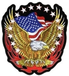 Eagle US Flag Patch