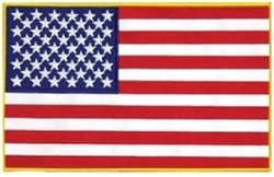 United States Flag Back Patch