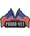 Proud Vet Reflective Back Patch