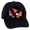 United States Flag With Eagle BALL CAP or PATCH