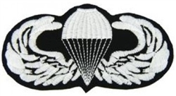 VIEW Basic Parachutist Wings Patch