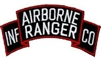 Airborne Ranger Infantry Company Tab Patch
