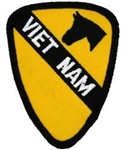 1 Cavalry Division Vietnam (1st) Patch