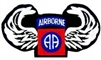 Wings, 82 Airborne Division (82nd) Patch