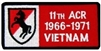 VIEW 11th ACR Vietnam Patch