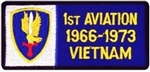 1 Aviation Brigade 1966-1973 Vietnam (1st) Patch