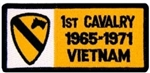 1 Cavalry Division 1965-1971 Vietnam (1st) Patch