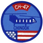CH-47 Chinook Helicopter Patch
