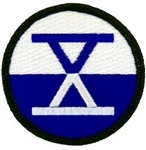 10 Corps (X Corps)Patch