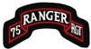 75 Ranger Regiment (75th) Tab Patch