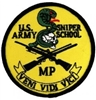 US Army MP Sniper School Patch