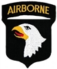 101 Airborne Division (101st) Patch