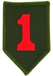 1 Infantry Division (1st) Patch