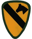 1 Cavalry Division (1st) Back Patch