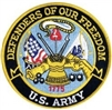 US Army Defenders Of Our Freedom Back Patch
