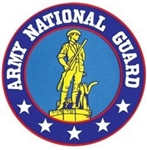Army National Guard Back Patch