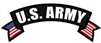 US Army Rocker Back Patch