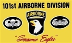 101 Airborne Division (101st) Flag - 3' x 5' - Screen-Printed
