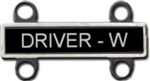 US Army Qualification Bar - Driver Wheeled (Regulation Size)