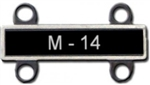 VIEW US Army M-14 Qualification Bar