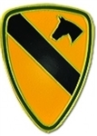 VIEW 1st Cav Lapel Pin