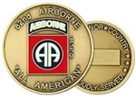 82nd Airborne Division (82nd) Challenge Coin