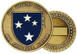 23 Infantry Division (23rd) Challenge Coin