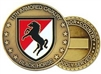 11 Armored Cavalry Regiment (11th ACR) Challenge Coin