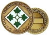 4 Infantry Division (4th) Challenge Coin
