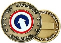 1 Logistical Command (1st) Challenge Coin