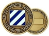 3 Infantry Division (3rd) Challenge Coin