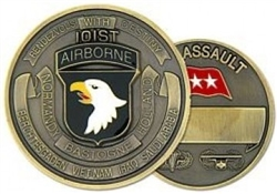 VIEW 101st Airborne Division Challenge Coin