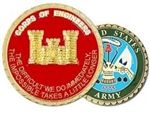 United States Army Corps Of Engineers Challenge Coin
