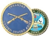 VIEW US Army Infantry Challenge Coin