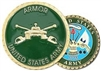 United States Army Armor Challenge Coin