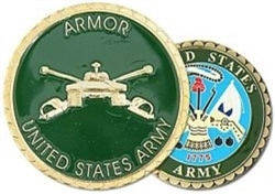 VIEW US Army Armor Challenge Coin