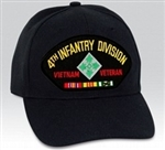 4 Infantry Division (4th) Vietnam Veteran BALL CAP or PATCH