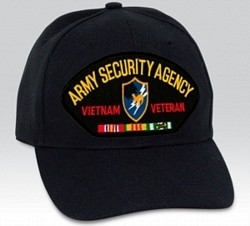 Army Security Agency (ASA) Vietnam Veteran BALL CAP or PATCH