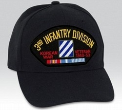 3 Infantry Division (3rd) Korea Veteran BALL CAP or PATCH