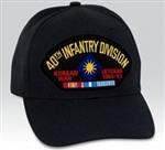 VIEW 40th Infantry Division Korea War Veteran Ball Cap
